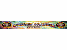 2074 Monster Coloured Sparklers 14 Inch