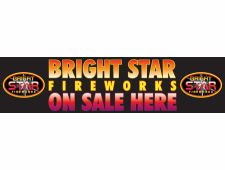 1520 Bright Star 8ft PVC Banner